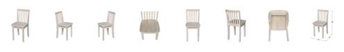 International Concepts Juvenile Chairs, Set of 2