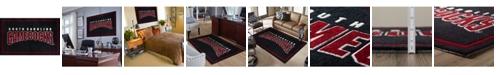 "Luxury Sports Rugs South Carolina Colsc Black 1'8"" x 2'6"" Area Rug"