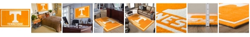 "Luxury Sports Rugs Tennessee Coltn Orange 5' x 7'6"" Area Rug"