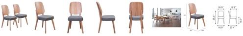 Zuo Alberta Dining Chair, Set of 2