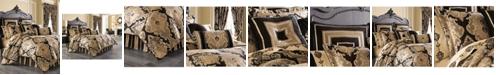 J Queen New York Bradshaw Black 4-pc Bedding Collection