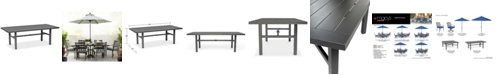 """Furniture Highland Aluminum Outdoor 84"""" x 42"""" Table, Created for Macy's"""