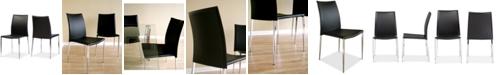 Furniture Santidad Dining Chair (Set of 2), Quick Ship