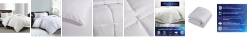 Royal Luxe White Goose Feather & Down 240-Thread Count Twin Comforter