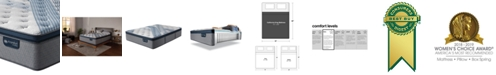 "Serta iComfort by Blue Fusion 1000 14.5""  Hybrid Luxury Firm Euro Pillow Top Mattress - California King"