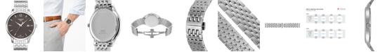 Tissot Men's Swiss Tradition Stainless Steel Bracelet Watch 42mm T0636101106700