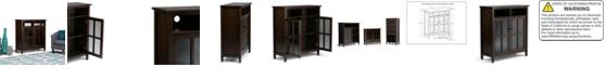 Simpli Home Burbank Media Cabinet