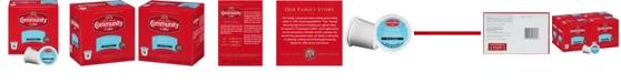 Community Coffee French Vanilla Medium Roast Single Serve Pods, Keurig K-Cup Brewer Compatible, 72 Ct