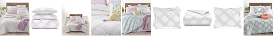 Martha Stewart Collection Chenille Trellis 2-Pc. Twin/Twin XL Comforter Set, Created for Macy's