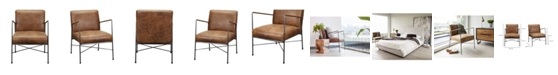 Moe's Home Collection Moes Home Collection Dagwood Leather Arm Chair