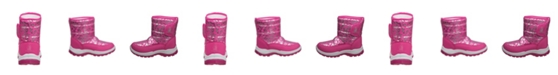 Rugged Bear Toddler Girls Snow Boots