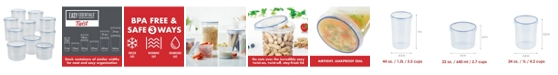 Lock n Lock Easy Essentials 20-Pc. Twist Food Storage Containers, Created for Macy's
