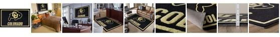"Luxury Sports Rugs Colorado Colco Black 3'2"" x 5'1"" Area Rug"