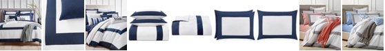 Charter Club Colorblock Full/Queen Duvet Cover Set, Created for Macy's
