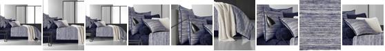 Oscar Oliver Oscar|Oliver Flen Cotton 4-Pc. Indigo California King Comforter Set