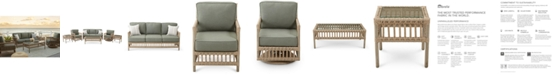 Furniture Lavena Outdoor Seating Collection, with Sunbrella® Cushions, Created for Macy's