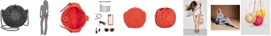 INC International Concepts I.N.C. Straw Circle Crossbody, Created for Macy's