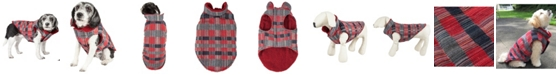 Pet Life Central Pet Life 'Scotty' Tartan Classical Plaided Insulated Dog Coat Jacket