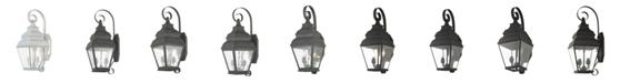 Livex Exeter 2-Light Outdoor Wall Lantern