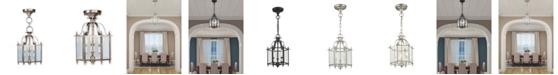 """Livex Livingston 3-Light 15.25"""" Convertible Mini Pendant/Ceiling Mount"""