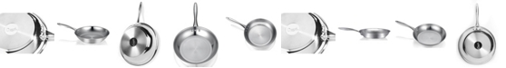 """Ozeri 10"""" Stainless Steel Earth Pan PTFE-Free Restaurant Edition"""