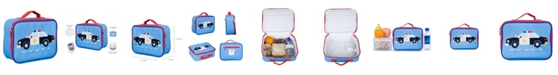 Wildkin Police Car Embroidered Lunch Box