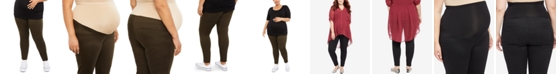 Motherhood Maternity Plus Size The Bella Secret Fit Belly Skinny Leg Pants