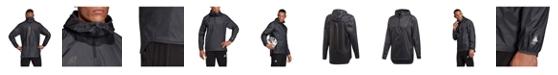 adidas Men's Tango Climastorm 1/2 Zip 3-Stripe Soccer Windbreaker