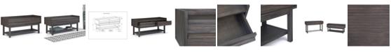 Simpli Home CLOSEOUT! Tabler Bench