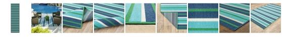 """JHB Design Apex APE12 Blue 2'3"""" x 7'6"""" Runner Rug"""