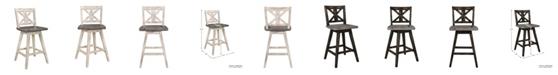 Furniture Homelegance Springer Counter Height Dining Swivel Chair