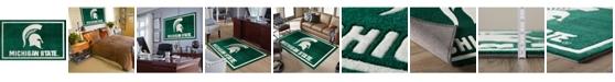 "Luxury Sports Rugs Michigan State Colmc Green 1'8"" x 2'6"" Area Rug"