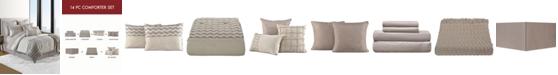 Sunham Finn Cotton 14-Pc. Queen Comforter Set