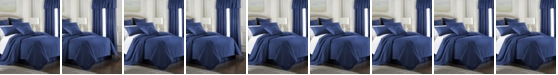 Colcha Linens Cambric Denim Coverlet-King