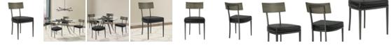 Armen Living Ojai Dining Chair (Set of 2)