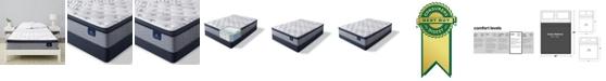 "Serta Perfect Sleeper Kleinmon II 13.75"" Plush Pillow Top Mattress Set - Queen"