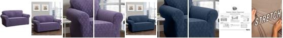 P/Kaufmann Home Stretch Sensations Stretch Ogee Slipcover for a Sofa.