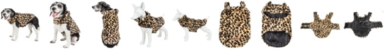 Pet Life Central Pet Life Luxe 'Poocheetah' Spotted Cheetah Patterned Faux Fur Dog Coat Jacket