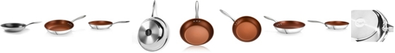 "Ozeri 8"" Stainless Steel Earth Pan PTFE-Free Restaurant Edition"