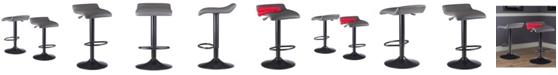 Winsome Tarah 2-Piece Set Air Lift Adjustable Stool
