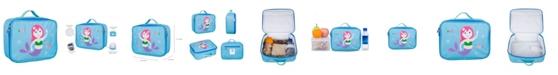 Wildkin Mermaid Embroidered Lunch Box