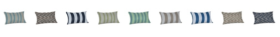 "Sunproof By Weatherproof Outdoor Lumbar Throw Pillow, 19"" x 12"""