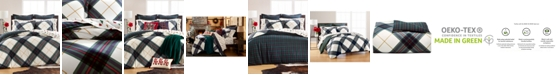 Martha Stewart Collection Winter Plaid Flannel Bedding Collection, Created for Macy's