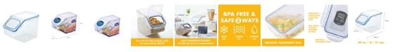 Lock n Lock Easy Essentials Pantry 21-Cup Food Storage Container with Flip Lid