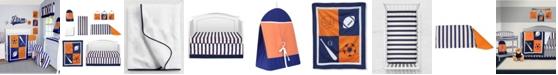 Pam Grace Creations Vintage Like Sports 6 Piece Crib Bedding Set