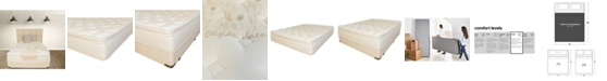 "Paramount Nature's Spa by Oasis 13.5"" Plush Pillow Top Mattress Set- California King"