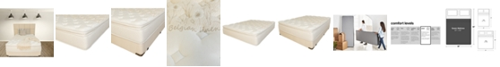 "Paramount Nature's Spa by Oasis 13.5"" Plush Pillow Top Mattress Set- Queen Split"