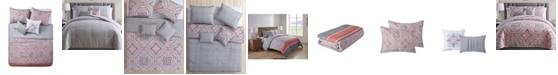 VCNY Home Allison Reversible Comforter Set, Full/Queen