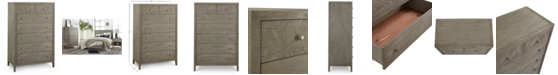 Furniture Parquet Chest, Created for Macy's