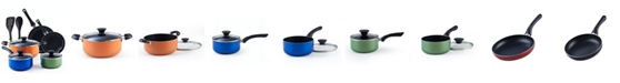 Cook N Home 10-Piece Nonstick Stay Cool Handle Cookware Set